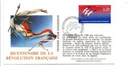 REVOLUTION FRANCAISE - LES VILLES FETENT LE BICENTENAIRE - CAYENNE - French Revolution