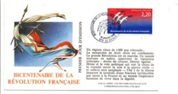 REVOLUTION FRANCAISE - LES VILLES FETENT LE BICENTENAIRE - SAINT DENIS REUNION - French Revolution