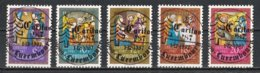 Luxembourg 1987 : Timbres Yvert & Tellier N° 1135 - 1136 - 1137 - 1138 Et 1139 Oblit. - Gebruikt