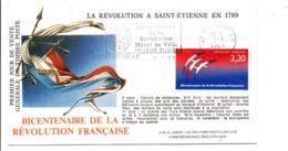 REVOLUTION FRANCAISE FLAMME BICENTENAIRE à SAINT ETIENNE - French Revolution