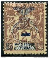 Nouvelle Caledonie (1903) N 81 * (charniere) - Neukaledonien