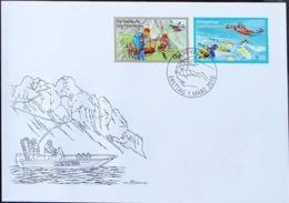 Liechtenstein 2010: Berg- Und See-Rettung / Sauvetage Alpin Et  Aquatique Zu 1488-89 Mi 1545-46 FDC (Zu CHF 6.00) - Tauchen