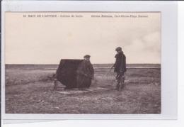 BAIE DE L'AUTHIE : Gabion De Hutte (chasse) - Très Bon état - Autres Communes