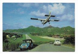 ILE DE SAINT BARTHELEMY  La Route De L Aeroport - Saint Barthelemy