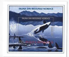 Romania 1993 Orca Killer Whale S/S MNH - 1948-.... Republics