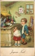 Fantaisie - Bertiglia - Enfants Admirant La Crêche De Noël - Bertiglia, A.