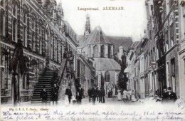 Pays-Bas - Alkmaar - Langestraat - Alkmaar