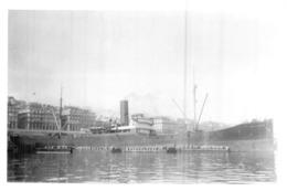 """Photo Récente Bateau """"Montauban """" S.N.D.V.Delmas 1921 Alloa 1940 échoué - Riproduzioni"""