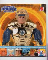 (jouets) Catalogue CAPTAIN POWER   MATTEI 1988 (PPP20576) - Advertising