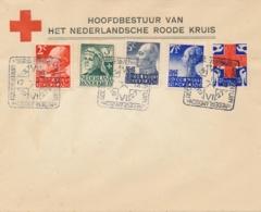 Nederland - 1927 - Red Cross - Rode Kruis Serie Met Dierentuinstempel (deels 1e Dag / FDC) Op Cover - Niet Gelopen - Periode 1891-1948 (Wilhelmina)