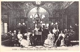 TOURS Orchestre Permanent Du Cafe De La Ville Direction POLLAK POLLINY 25(scan Recto-verso) MA1378 - Tours