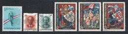 Luxembourg 1989 : Timbres Yvert & Tellier N° 1174 - 1175 - 1176 - 1177 - 1178 - 1179 - 1180 Et 1181 Oblit. - Gebruikt