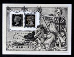 GREAT BRITAIN GB - 1990 PENNY BLACK ANNIVERSARY MS FINE MNH ** - Royalties, Royals