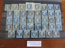LOT EMPIRE NON DENTELÉ N°14A X39 Ex. 2ème CHOIX Oblt. VOIR SCAN - 1853-1860 Napoléon III