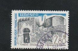 France Oblitéré  1986  Service N° 76  U.N.E.S.C.O - Service