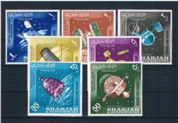 Schardscha 1964 Raumfahrt Mi.Nr. 54/60 Kpl. Satz ** - Schardscha