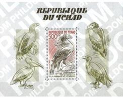 Ref. 31727 * MNH * - CHAD. 1985. BICENTENARY OF THE BIRTH OF ORNITHOLOGIST J.J. AUDUBON . BICENTENARIO DEL NACIMIENTO DE - Tschad (1960-...)