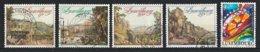 Luxembourg 1990 : Timbres Yvert & Tellier N° 1186 - 1187 - 1188 - 1189 - 1190 - 1191 - 1192 - 1193 Et 1194 Oblit. - Gebruikt