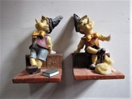 Presses-livres Pinocchio - Hauteur : 13 Cm. - C 20 - Other Collections