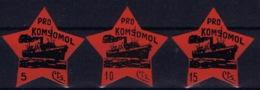 Spain: Pro Komsomol - Spanish Civil War Labels