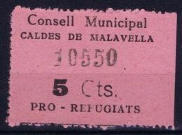 Spain: Consell Municipal Caldes De Malavella - Vignetten Van De Burgeroorlog