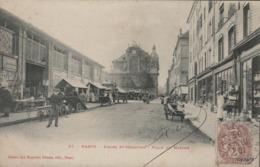 CPA Nancy - Eglise St Sébastien . Place Du Marché (animée) - Nancy