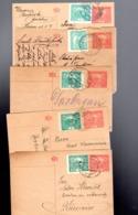 1920/ 5  Entiers  15 Avec Complément 5  Pour 20 : Tarif Du 15/5/19 Pour Etranger Et 15/3/1920 Pour Local - Cartes Postales