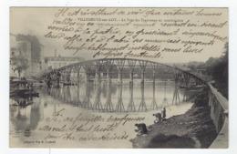 Le Pont Des Tramways En Construction - Villeneuve Sur Lot - Villeneuve Sur Lot