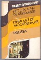 Het Lijk Aan De Kerkmuur (Baantjer) Diner Met De Moordenaar (Vance) Melissa (Durbridge) (Amsterdam Boek 1973) - Détectives & Espionnages