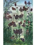 Ref. 99179 * MNH * - CZECH REPUBLIC. 2002. WWF. BUTTERFLIES . WWF. MARIPOSAS - Repubblica Ceca