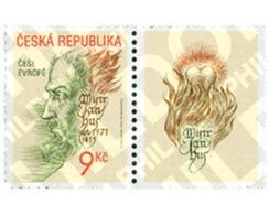 Ref. 99182 * MNH * - CZECH REPUBLIC. 2002. HOMENAJE A JAN HUS - Repubblica Ceca