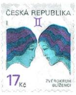 Ref. 101711 * MNH * - CZECH REPUBLIC. 2002.  ZODIAC SIGNS . SIGNOS DEL ZODIACO - Repubblica Ceca