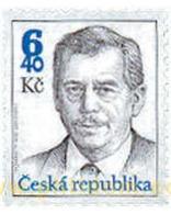 Ref. 106835 * MNH * - CZECH REPUBLIC. 2002. PRESIDENT VACLAV HAVEL . PRESIDENTE VACLAV HAVEL - Repubblica Ceca