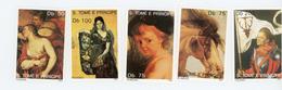Sao Tome 1991-Rubens(cheval),Picasso,Titien MI 1253/59***mnh***MNH- - Impressionisme