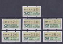 Duitsland 1982 Reeks Vignetten, Zeer Mooi Lot Krt 4153 - R- & V- Labels