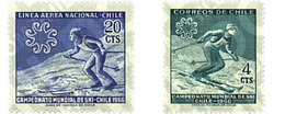 Ref. 27039 * MNH * - CHILE. 1965. INTERNATIONAL SKI CHAMPIONSHIP  . CAMPEONATOS INTERNACIONALES DE ESQUI - Ski