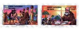 Ref. 204783 * MNH * - CHILE. 1998. 150 AÑOS DE LA ORDEN CAPUCHINA EN CHILE - Cile