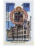 Ref. 204784 * MNH * - CHILE. 1998. 70 ANIVERSARIO DE LA UNIVERSIDAD CATOLICA DE VALPARAISO - Chile