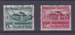 Duitsland Rijk 1938 Nr 614/15 G, Zeer Mooi Lot Krt 4158 - Used Stamps