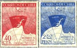 Ref. 180557 * MNH * - CHILE. 1947. CHILEAN ANTARCTIC . ANTARTICA CHILENA - Chile