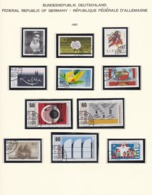 BRD - 1983 - Sammlung - Gest. - Used Stamps