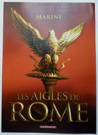FLYERS  Dépliant DARGAUD LES AIGLES DE ROME MARINI 2007 - Objets Publicitaires