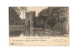 Brasschaet-Polygone.  -  Le Pont à L'entrée De Château Du Mick (1905). - Brasschaat