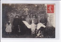 SARTROUVILLE : Carte Photo D'une Chasse Au Cygne (oiseau) - Bon état (traces Au Dos) - Sartrouville