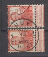 COB 111 Oblitération Centrale HUY 1C - 1912 Pellens