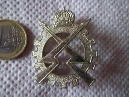 Insigne De Béret Ordonnance (1951-1970) - Armée Belge - Militaria