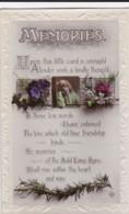 AR71 Greetings - Memories - Heather, Flowers - Holidays & Celebrations