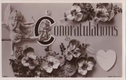 AR71 Greetings - Congratulations - Flowers, Cupid, Heart - Holidays & Celebrations
