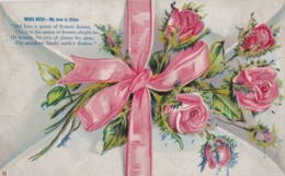 AR71 Greetings - Moss Rose - My Love Is Thine - Embossed - Holidays & Celebrations