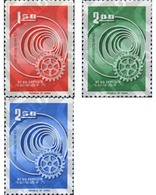 Ref. 314604 * MNH * - FORMOSA. 1965. 60th  ANNIVERSARY OF ROTARY INTERNATIONAL . 60 ANIVERSARIO DEL ROTARY INTERNATIONAL - 1945-... Republik China